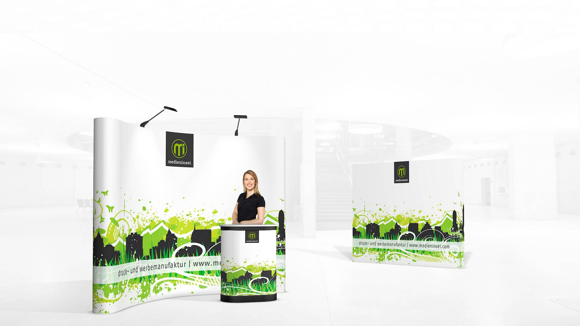 isyPOP M1.1 PopUp Display System